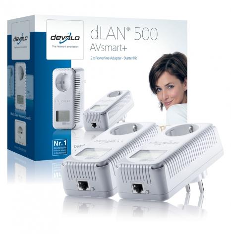 TV Infos & TV News @ TV-Info-247.de | dLAN® 500 AVsmart+ Starter Kit