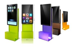 Tickets / Konzertkarten / Eintrittskarten | Appscreen - Das elegante Design-Präsentationssystem aus farbigem Acrylglas mit Full-HD Display