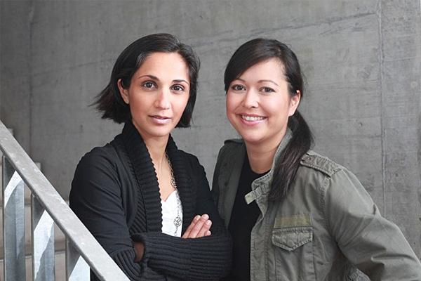 Frankfurt-News.Net - Frankfurt Infos & Frankfurt Tipps | triplesense-Geschäftsführerinnen Katajoun Parandian-Kurz und Julia Saswito
