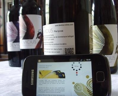 Gewinnspiele-247.de - Infos & Tipps rund um Gewinnspiele | Smarte Weine von Devicius: moderne Label mit QR-Code