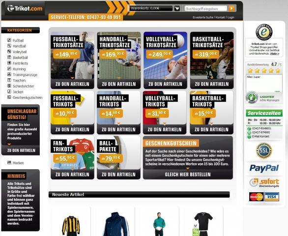 Einkauf-Shopping.de - Shopping Infos & Shopping Tipps | Trikot.com - Hauptsponsor VVG Grimma