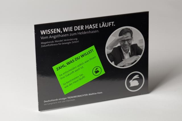 Baden-Württemberg-Infos.de - Baden-Württemberg Infos & Baden-Württemberg Tipps   Trendbeobachter Mathias Haas veröffentlicht sein neues Hör- und Videobuch und macht Angsthasen zu Heldenhasen