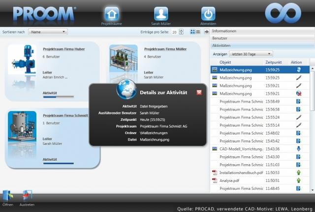 Sachsen-Anhalt-Info.Net - Sachsen-Anhalt Infos & Sachsen-Anhalt Tipps | PROOM. sicherer Datenaustausch von CAD-Dateien