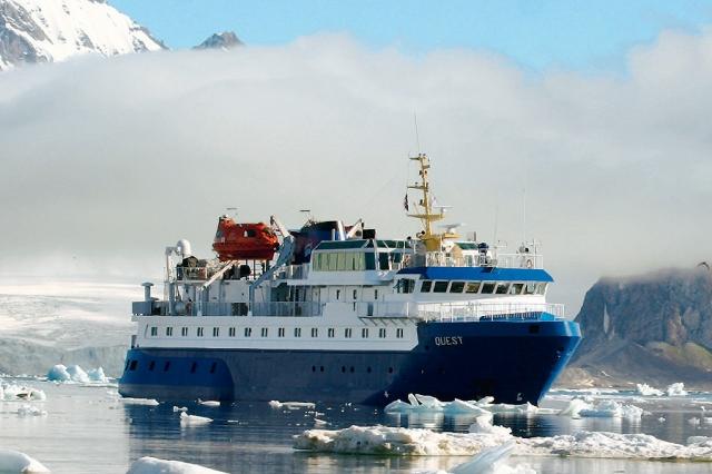 Kreuzfahrten-247.de - Kreuzfahrt Infos & Kreuzfahrt Tipps | Die MS Quest auf einer Spitzbergenreise der Fietz GmbH Polar-Kreuzfahrten