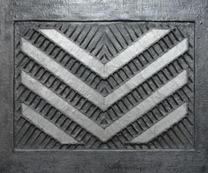 Michael Klahold, Objektbild Nr. 1, entstanden 1988 / 1989 Holz, Metall, Mullbinde, Wachs, Abtönfarbe u. weitere Materialien, 100 x 84 cm