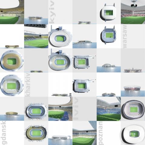 Sport-News-123.de | Ungewohnte Stadion-An- und Einsichten der EM 2012