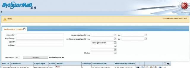 Hessen-News.Net - Hessen Infos & Hessen Tipps | Die erweiterte Suchfunktion in BytStorMail 4.0