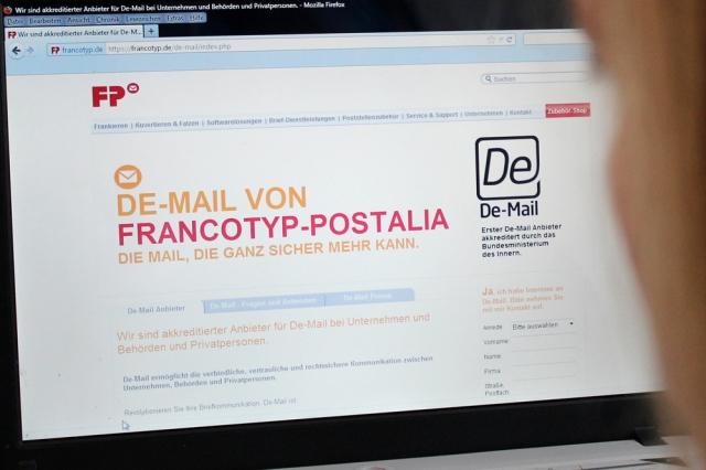 Berlin-News.NET - Berlin Infos & Berlin Tipps | De-Mail von Francotyp-Postalia: verbindlich, vertraulich und rechtswirksam