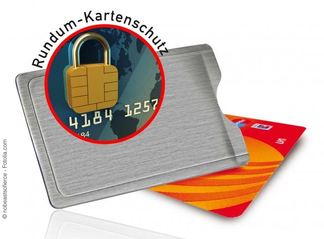 Kreditkarten-247.de - Infos & Tipps rund um Kreditkarten | Die Kartenhülle aus Edelstahl mit RFID-Ausleseschutz