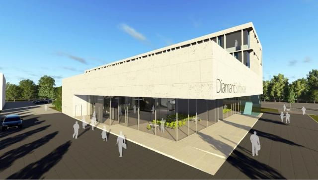 Stuttgart-News.Net - Stuttgart Infos & Stuttgart Tipps | Entwurf neuer Büro-Komplex Diamant Software: Brüchner-Hüttemann Pasch bhp Architekten + Generalplaner