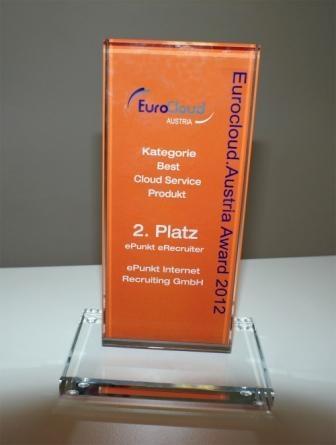 Wien-News.de - Wien Infos & Wien Tipps | Der eRecruiter von ePunkt wurde mit dem Best Cloud Österreich Award ausgezeichnet.