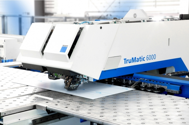 Technik-247.de - Technik Infos & Technik Tipps | Kombinierte Stanz- und Lasermaschine TruMatic 6000