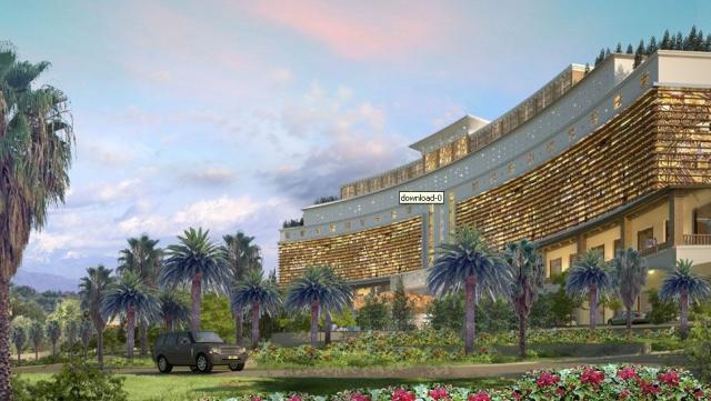 Ost Nachrichten & Osten News | Sensationelles Hotelprojekt an der russischen Riviera: Das 664-Zimmer-Resort Chernomoritz Park Spa Hotel in Sotchi wird zu den Olympischen Winterspielen im Februar 2014 fertig gestellt