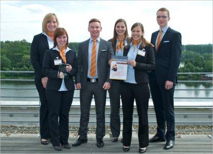 Thueringen-Infos.de - Thüringen Infos & Thüringen Tipps | Azubi-Team der Volksbank Forchheim – Sieger beim Bankfachklasse Award 2012