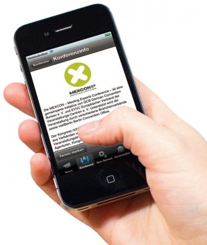 Berlin-News.NET - Berlin Infos & Berlin Tipps | TBKonferenz iPhone App zur MEXCON 2012