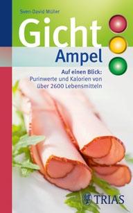 Diätexperte Sven-David Müller hat die zweite Auflage der Gicht-Ampel herausgegeben