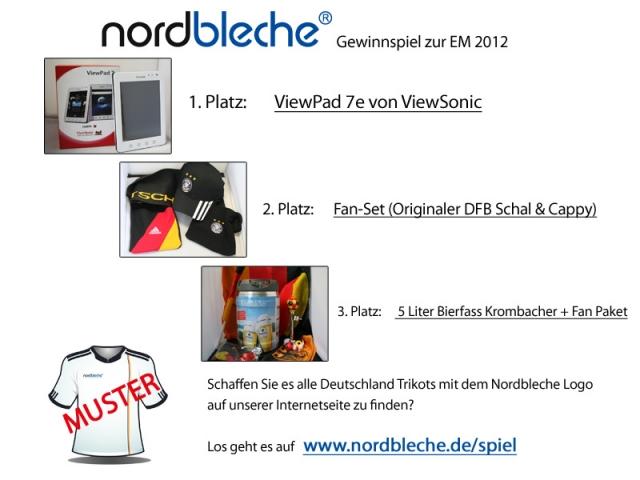 Europa-247.de - Europa Infos & Europa Tipps | Die Gewinne zum EM 2012 Spiel von Nordbleche