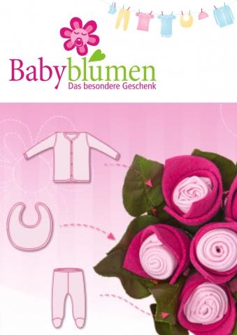 Einkauf-Shopping.de - Shopping Infos & Shopping Tipps | Babyblumen startet den Verkauf außergewöhnlicher Geschenkideen für Neugeborene und ihre Eltern