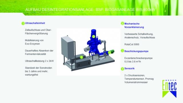 Landwirtschaft News & Agrarwirtschaft News @ Agrar-Center.de | Bestehende Anlagen können sehr flexibel mit dem >> DesintegrationsModulSystem, DM << von Weber Entec nachgerüstet werden.