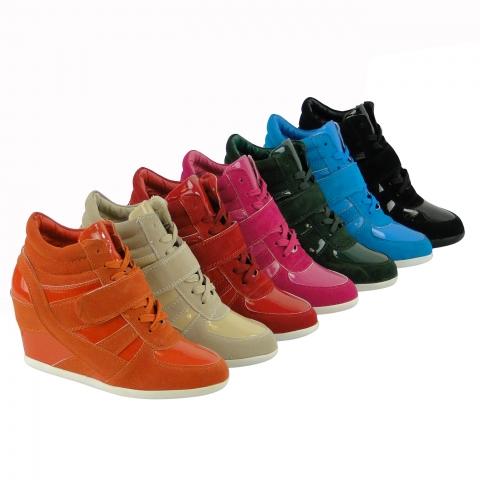 Europa-247.de - Europa Infos & Europa Tipps | Topaktuelle Sneaker-Stiefelette Hidden Wedge - jetzt bei Stiefelparadies für 29,90 Euro