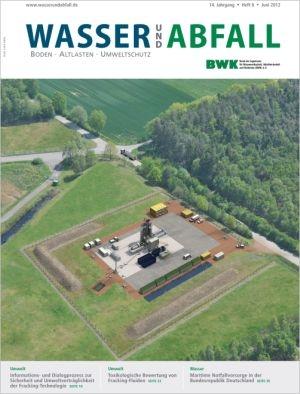 Nordrhein-Westfalen-Info.Net - Nordrhein-Westfalen Infos & Nordrhein-Westfalen Tipps | Coverabbildung der aktuellen Ausgabe 06/2012 der Fachzeitschrift Wasser und Abfall