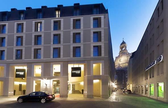 Außenansicht Hotel Innside Dresden