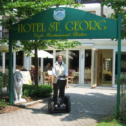 Hotel Infos & Hotel News @ Hotel-Info-24/7.de | Segway fahren im St.Georg Hotel Bad Aibling