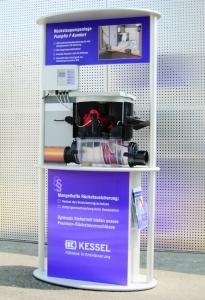 Gutscheine-247.de - Infos & Tipps rund um Gutscheine | Im Verkaufsförderungspaket des Entwässerungsprofis KESSEL enthalten: Das neue Funktions-Modell der Rückstaupumpanlage Pumpfix F Komfort.