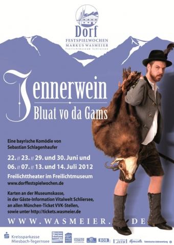 Plakatmotiv Dorf-Festspielwochen 2012