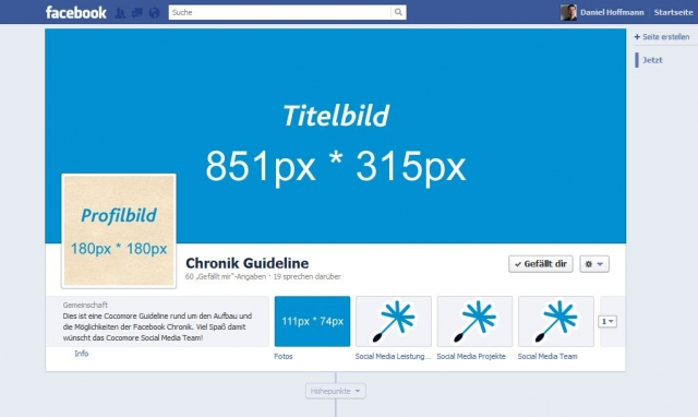 Social-Media-Team der Cocomore AG unterstützt Grafiker und Webdesigner beim Einbinden von Bildern