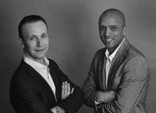 Frank Pieper mit Firmengründer Matthias Schmidt-Rex
