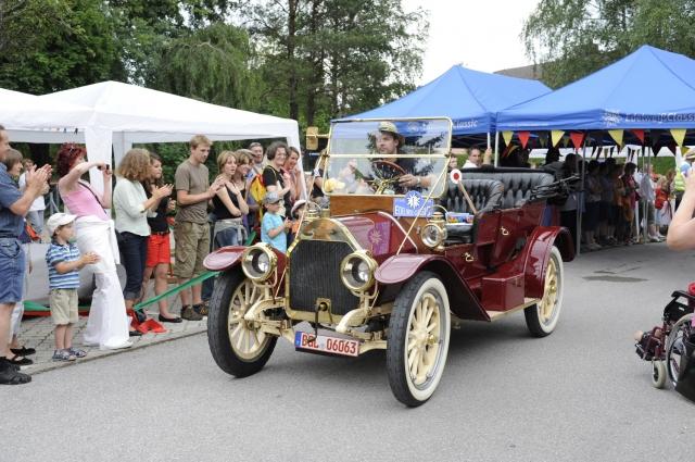 Schweiz-24/7.de - Schweiz Infos & Schweiz Tipps | Das älteste Teilnehmerfahrzeug bei der