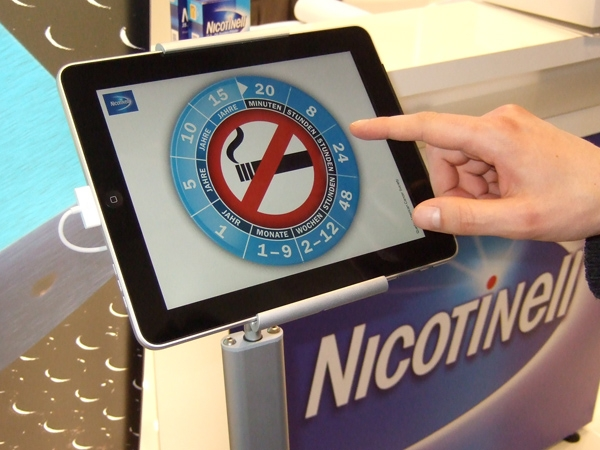 App-Entwickler Haase & Martin liefert Kiosksysteme die per iPad die Livekommunikation und die Leadgenerierung unterstützen.