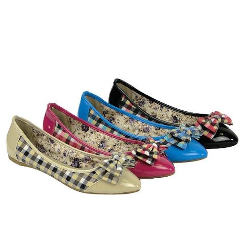 Europa-247.de - Europa Infos & Europa Tipps | Ballerinas Preppy Style 30 Prozent reduziert bei Bootsparadise