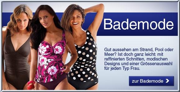 Schweiz-24/7.de - Schweiz Infos & Schweiz Tipps | Bademode in grossen Grössen vom QUELLE Versand: Bikinis, Tankinis, Mixkinis, Badehosen