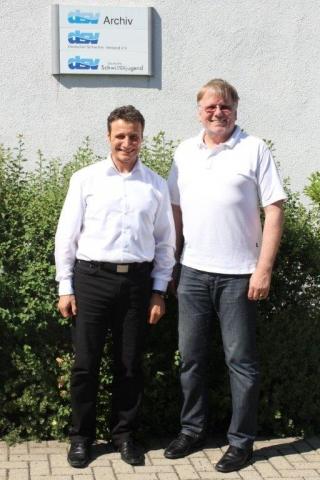 Hessen-News.Net - Hessen Infos & Hessen Tipps | Bild Jörg Knieper (Projektmanager Gesundheit & Kultur) und Jürgen Fornoff (Generalsekretär DSV) v.l.n. r.