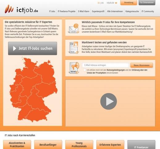 Europa-247.de - Europa Infos & Europa Tipps | ictjob.de - Die spezialisierte Jobbörse für IT-Experten