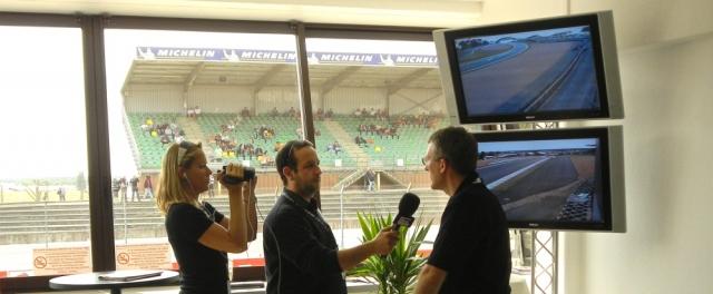 News - Central: Le Mans Pressebereich