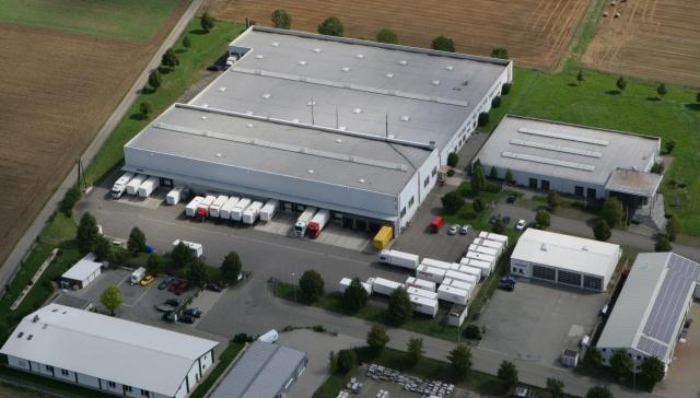 Zusätzliche Lagerflächen Spedition Klaus Meier GmbH
