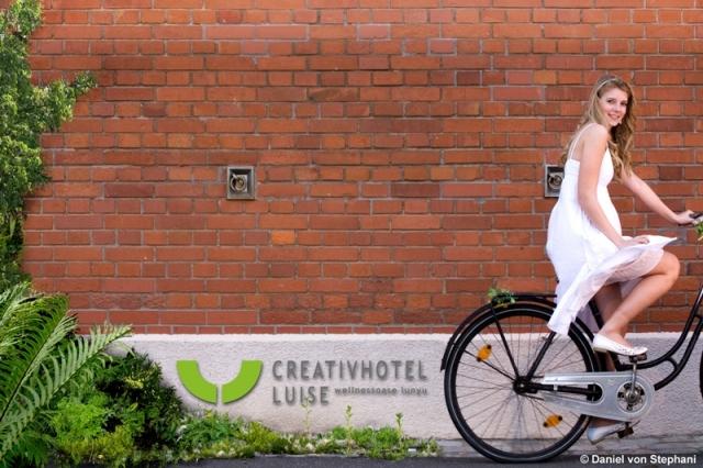 Elektroauto Infos & News @ ElektroMobil-Infos.de. Radler willkommen im Creativhotel Luise