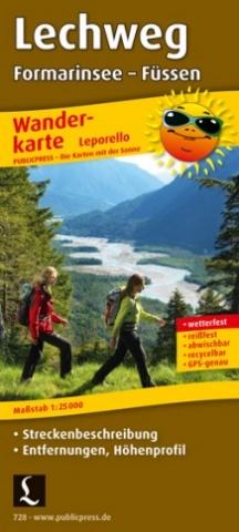 Europa-247.de - Europa Infos & Europa Tipps | Wanderkarte Lerchweg von Publicpress