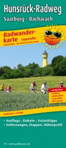 News - Central: Radwanderkarte Hunsrück