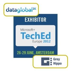 Grey Hippo und dataglobal auf der TechEd Amsterdam
