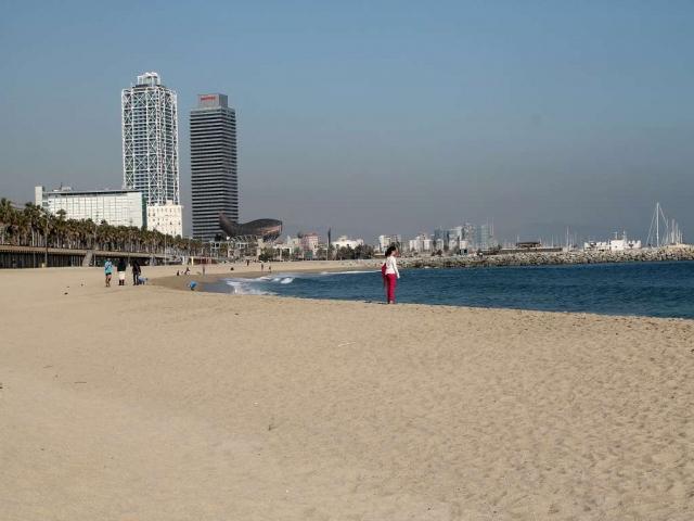 Barcelona-News.de - Barcelona Infos & Barcelona Tipps | Die Aussicht auf Barcelona vom Strand