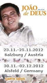 Tickets / Konzertkarten / Eintrittskarten | Joao de Deus - Geistheilungstage -Earth Oasis
