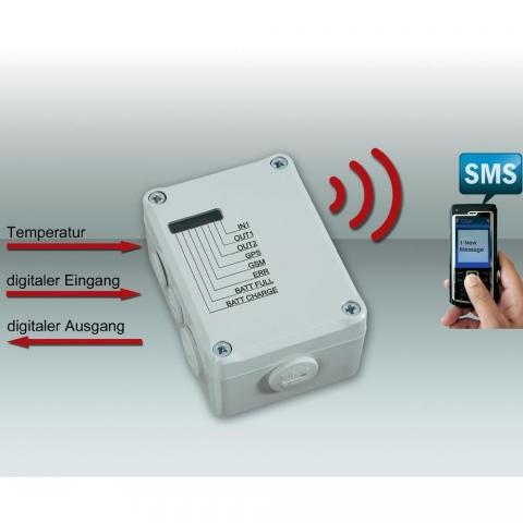 Einkauf-Shopping.de - Shopping Infos & Shopping Tipps | Diese mobile Alarmanlage von Conrad überwacht stationäre und bewegliche Objekte und sendet auf Wunsch per SMS die GPS-Position und weitere Informationen.