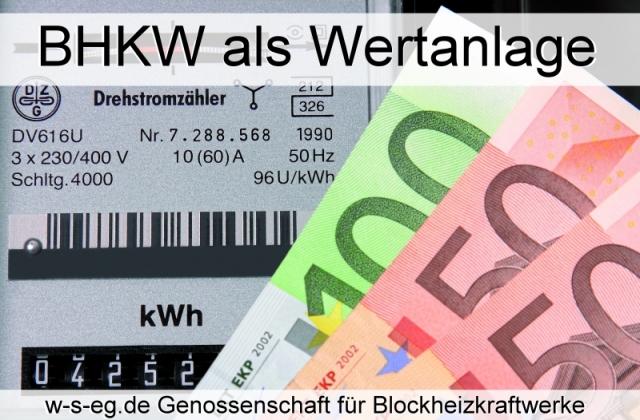 Auto News | Wärme + Strom eG finanziert und realisiert BHKW-Anlagen für Betriebe und Unternehmen