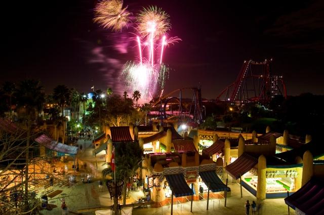 Afrika News & Afrika Infos & Afrika Tipps @ Afrika-123.de | Feuerwerk in Busch Gardens Tampa Bay