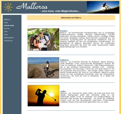 News - Central: Internetportal Mallorca-Urlaubsinfo