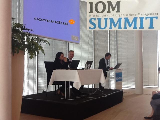 Auto News | comundus auf dem IOM Summit in Köln
